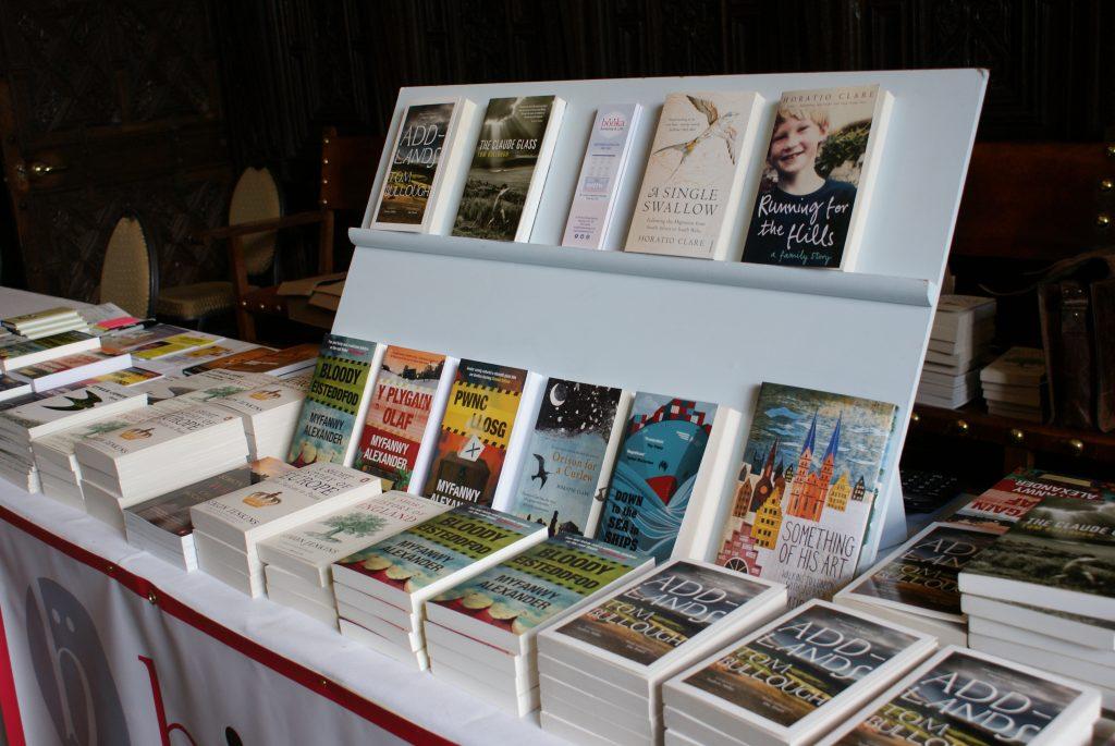 Monty Lit Fest Bookshop 2019